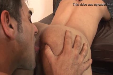 ass plowing And engulfing lad Holes For raw plowing