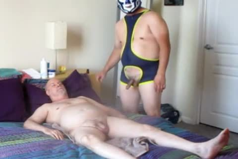 another Luchador taskmaster Demands pecker Dedication.