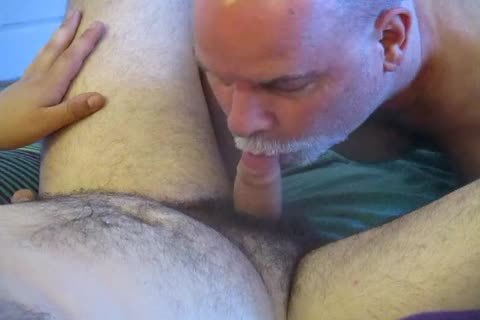 bisexual Bear Cub's First oral-job pleasure To Completion.