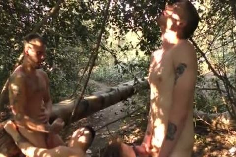 twinks plowing naked In The Woods - Part 2