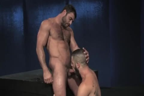 Mike Dozer plowing A Bearded Hunk Bottom