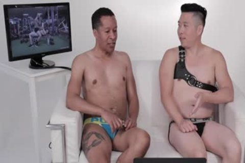 Two guys In Jockstraps Watch Sexercise Porn clip Starring Sir Jet   Atlas