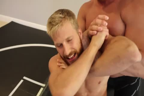 juicy Muscle Hunks Wrestling