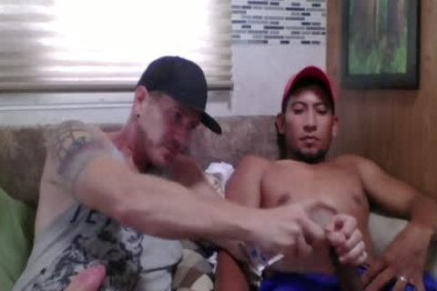 Straight Latino Construction Worker gets First handjob From A man (Martin 2)