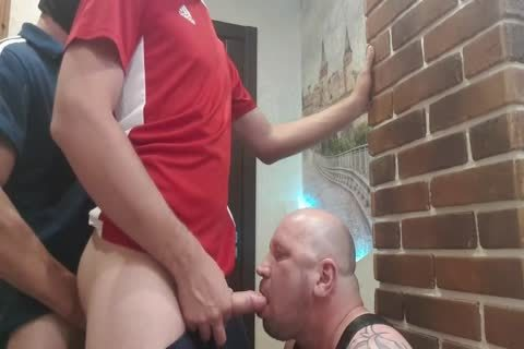 two dominant From The Doorway Hard fuck throat And unprotected