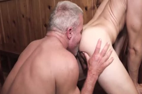 two studs & two twink slamming nude After Diner