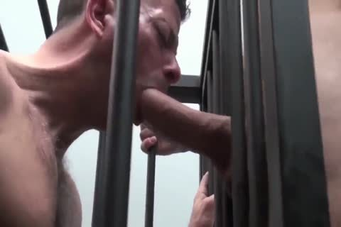 ROCCO STEELE-CAGET DOG big penis EATER
