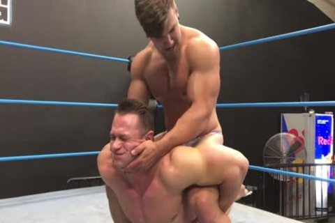 Muscle Hunks Wrestling