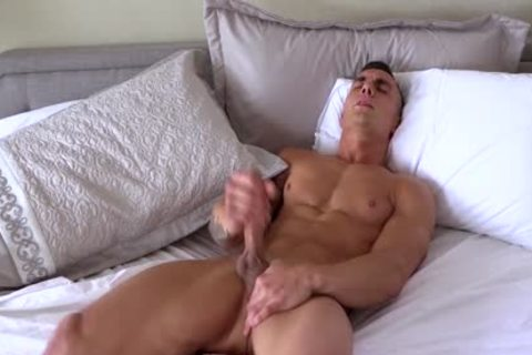 Different boyz With massive cocks Jerking-off