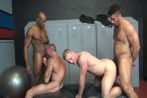 bare Locker Room orgy