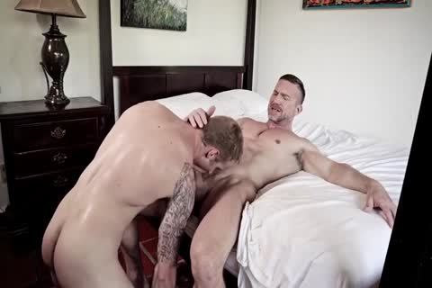 GayRoom Smooth ass Sleeper Awakens For A gigantic ass fucking