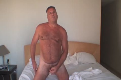 Daddy Jerks Off In The Morning