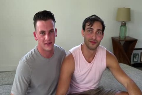 2 College rods fuck before Class. gay SEX