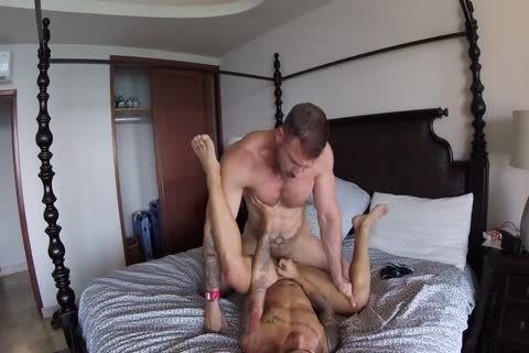 Austin Wolf And Unknown (Hotel Room)