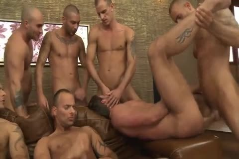 Toby Dutch receives banged In A Seven-chap bare group gangbang