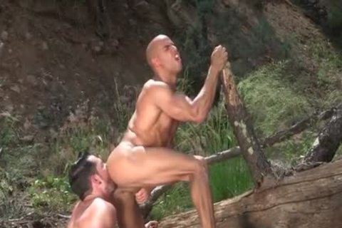 Tattoo Bodybuilder Outdoor Sex And sex sperm Flow