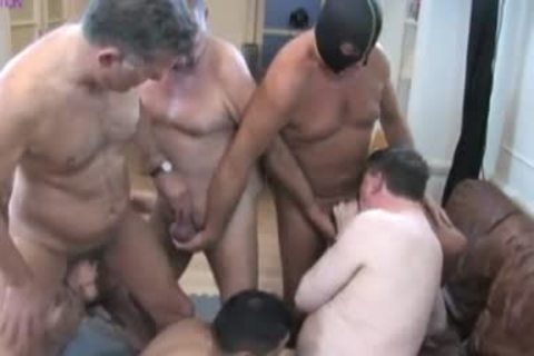old man, Daddies & young men orgy -1