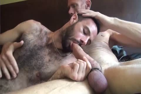 GUNNER & DAVID-GIFTED DADDY STUFFING hirsute pooper