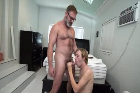 Skinny Ginger Stepson 69 With Gigantic cock Stepdad