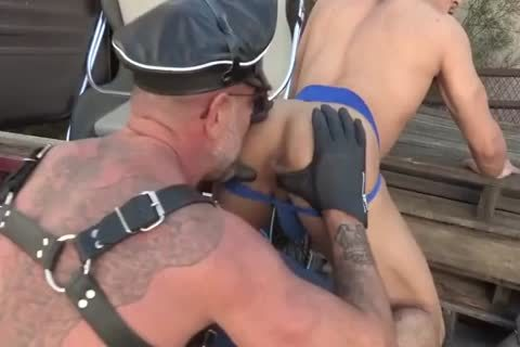Biker Daddy Eats And Seeds juvenile butthole