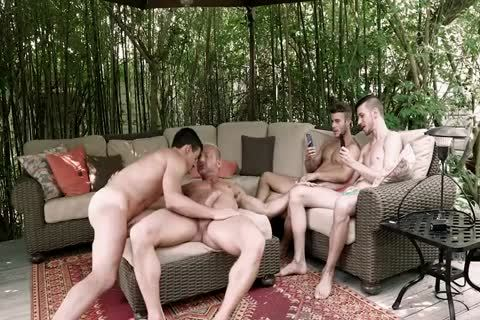 A three-some With Spectators