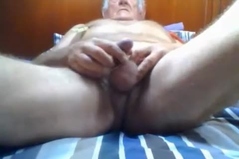 Stormbird1 lewd older older man wanking His 10-Pounder