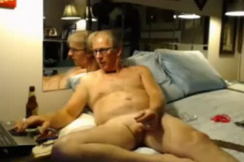 Caught On cam #5 old studs wanking Off