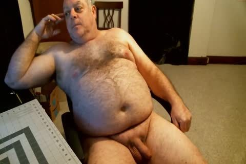 in nature's garb Bear dad On webcam