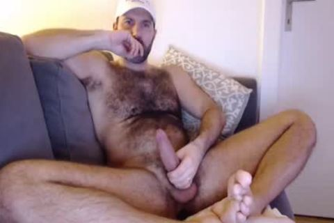 hairy Budy jack off Cumming Load