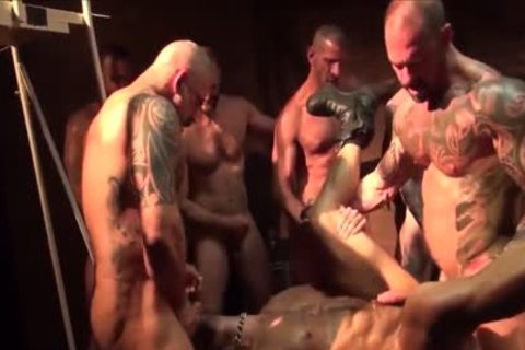 As A Bottom - My Fav Scene Compilation 09 (Muscle Tops In bunch-sex & fuckfest)