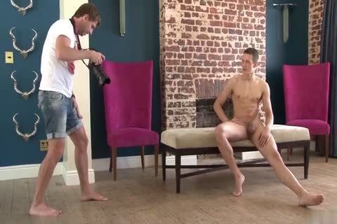 twink Posing And Jerking-off