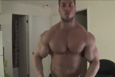 Bodybuilder Shows His majority good