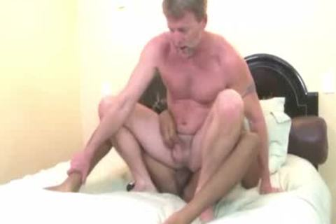 dad Getting drilled By young lad