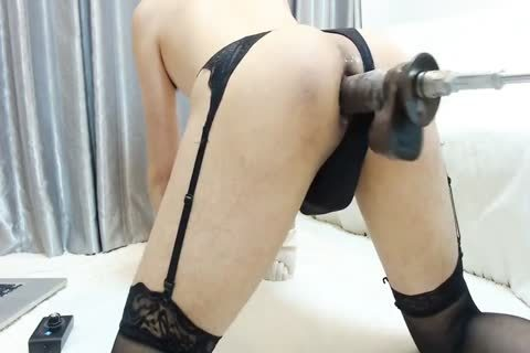 slamming Machine Hard Korean Crossdresser Part1