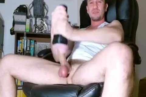 Proudbator Using His Lovetoys And Poppers