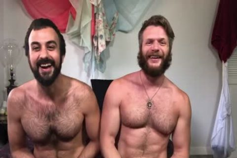 Muscled hirsute And Bearded