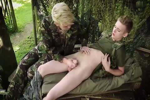 Army Dropouts Sc 1 Flip Flopping Army men Relish An Outdoor nail With Oodles Of sperm 4172