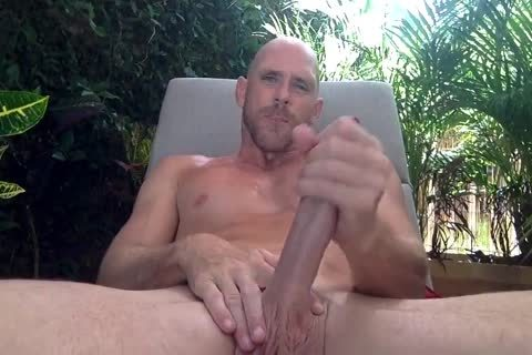 Johnny Sins jerking off His big moist ramrod