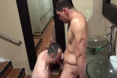 naughty guys plow In A Locker Room