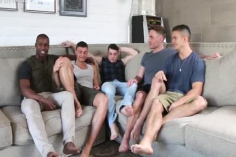 'Sexiest Muscle males On PornHub acquire A Star Studded homo orgy jointly. One For The Books!'