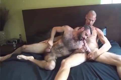 GUNNER DAVID GIFTED DADDY STUFFING bushy darksome hole