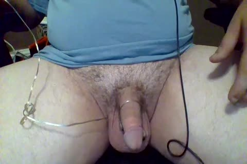 Using A fake penis To Milk My knob