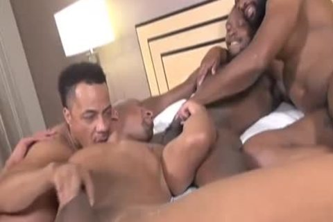 painfully Four BBC Mutual pounding - GayForced.com