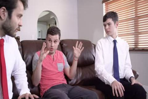 'Mormon lad gets disciplined And poked'