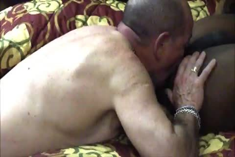 engulfing and anus nailing a moist hung marine