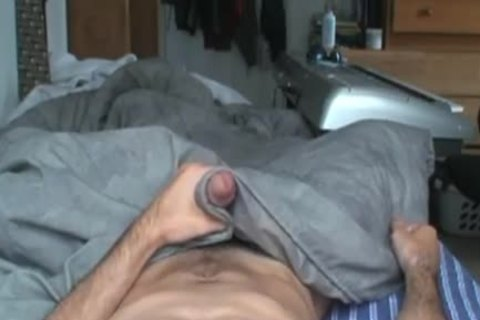 POV Camera Angle of Hung Amatuer stroking