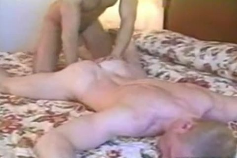 pleasant hunks make love in their hotel room